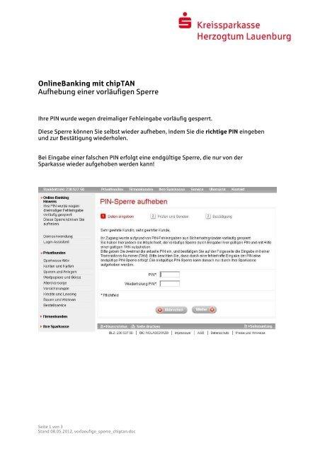 ksk ratzeburg online banking