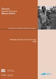 Mbeere Report.indd - Childinfo.org