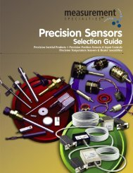 1531 EMI Filter/Power SelGuide - Spectrum Sensors & Controls ...