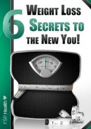 Your final weight loss programme… - Fleet Street Publications