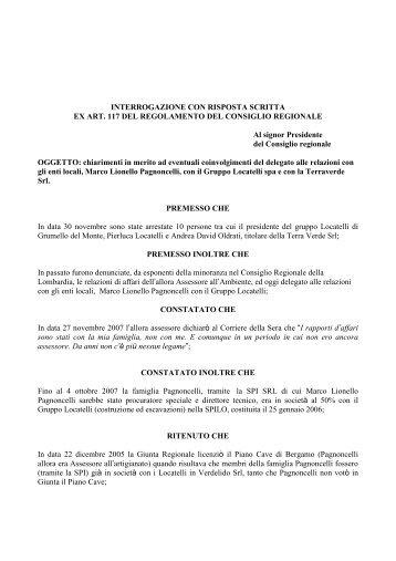 itr pagnoncelli - L'Eco di Bergamo