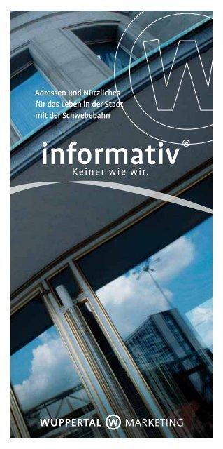 Informativ (pdf) - Stadt Wuppertal