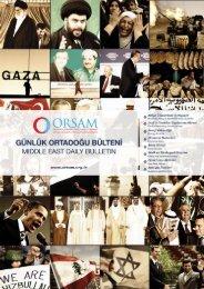 Click for the bulletin of 9 June 2011 - orsam