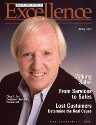 Sales and Service Excellence - Booher Consultants, Inc.