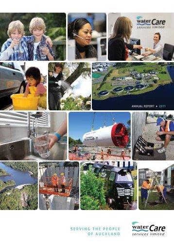 Annual Report 2011 - Watercare