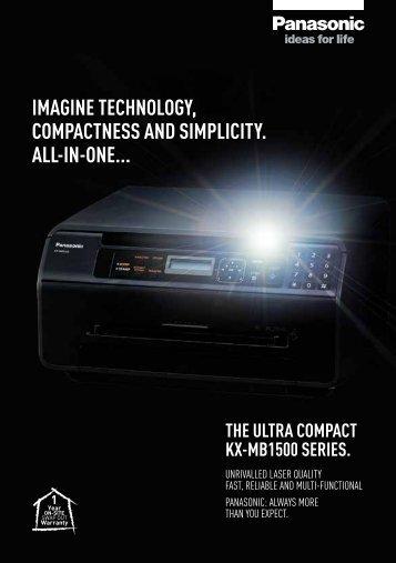 Panasonic KX-MB1500 Series EN - Business - Panasonic