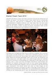 Bremer Dream Team 2010 - Fussball Lernen Global