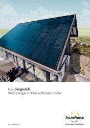 Das Solarenergie in ihrer schönsten Form.
