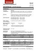 TM 637 FEYCOPUR 637 - HS NFZ-Decklack - MAUTNER Alles Farbe - Page 2