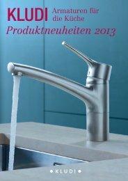 Produktneuheiten 2013 - Kludi GmbH & Co. KG