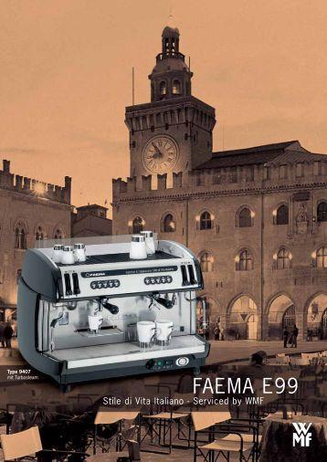 FAEMA E99 - Kaffeevollautomaten.org