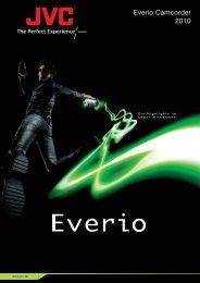 Everio Camcorder 2010 - JVC