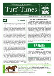 BREMEN - Turf-Times Deutschland