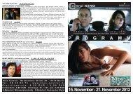 15. November - 21. November 2012 P R O G R A M M - Central-Kino