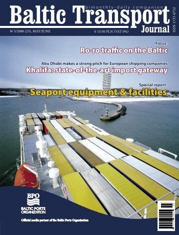 Seaport equipment & facilities - Baltic Press