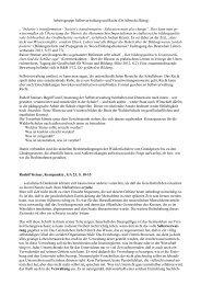 Zusammenfassung - Bund der Freien Waldorfschulen