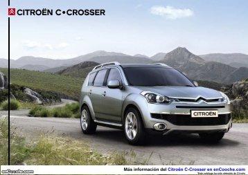 Catálogo del Citroën C-Crosser - enCooche.com