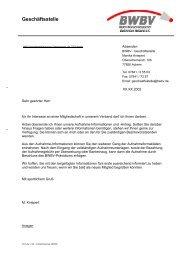 Mitgliederverwaltung - Baden - Württembergischer  Badminton ...