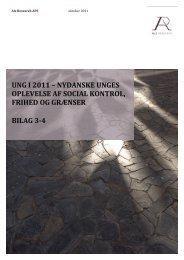 UNG I 2011 – NYDANSKE UNGES OPLEVELSE AF SOCIAL ...