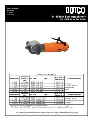 Sales & Service Centers - Apex Tool Group