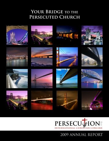 YOUR BRidGE PERSEcUtEd ChURch - Persecution.org