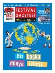 Festival Gazetesi 1. Bölüm - Sadibey