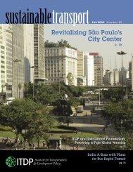 City Center Revitalization: São Paulo - ITDP | Institute for ...
