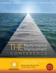 Download the conference brochure - International Society for ...