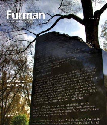 9/11: Reflections on the Decade - Furman University