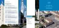 Einladung Programm - Wirtschaftsraum Bern