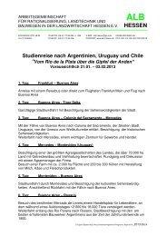 Programm Lehrfahrt 2013 - Arbeitsgemeinschaft für Rationalisierung ...