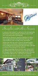 Zum Maxwirt - Kur- und Feriencamping MAX I