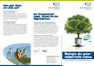 Ökologie als unter- nehmerische Chance - Sonepar