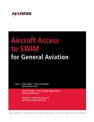 Aircraft Access to SWIM for General Aviation - Air Traffic Control ...