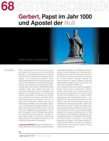 Gerbert, Papst im Jahr 1000 und Apostel der Null - Watch Around
