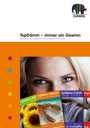 TopDämm - Deutsche Amphibolin Werke -  Caparol