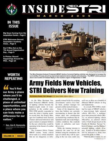 inside - PEO STRI - U.S. Army