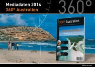Mediadaten 2014 360° Australien Preise - bei 360° Australien