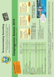 Preisliste 2010.indd - Camping Sonnenberg
