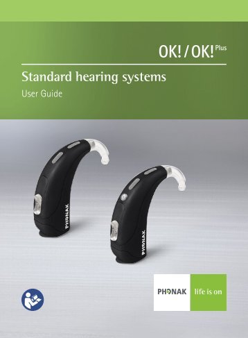 User Manual OK OK Plus BTE - Phonak