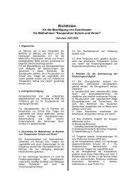 Richtlinien - Schulsport-Hamburg.de