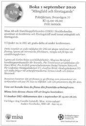 Boka 1september 2010 - FUBbloggen