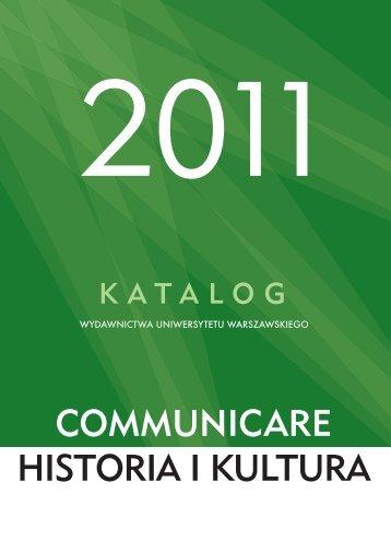 Seria Communicare.indd - Wydawnictwa Uniwersytetu ...