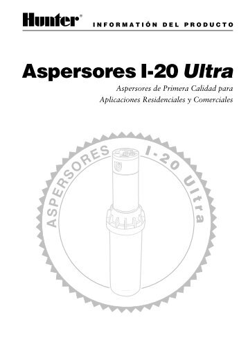 Aspersores I-20 Ultra - Hunter Industries