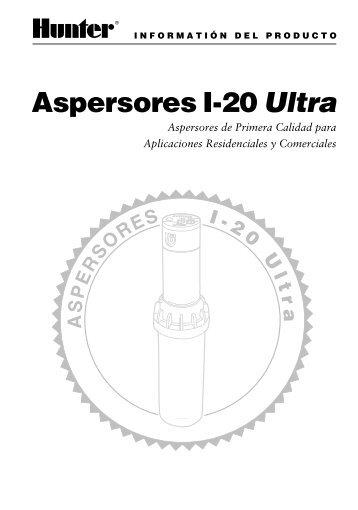Aspersores I-20 Ultra - Hunter Industries