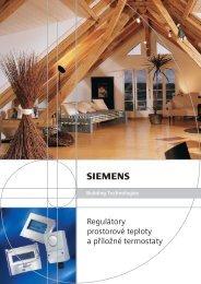 Katalog Siemens termostaty