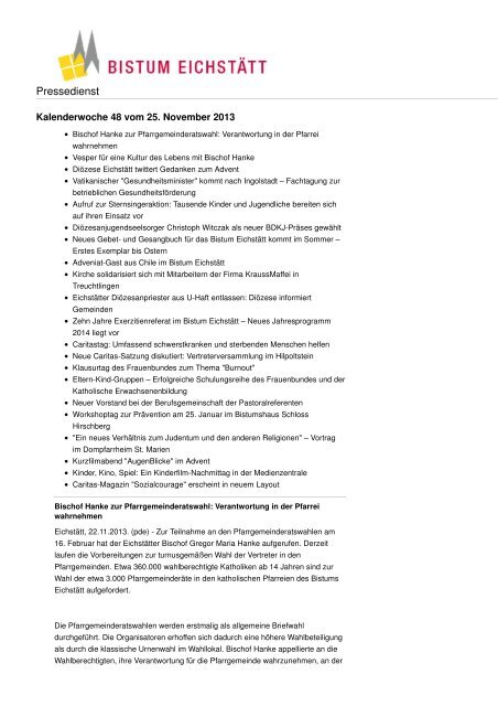 Download im pdf-Format - Bistum