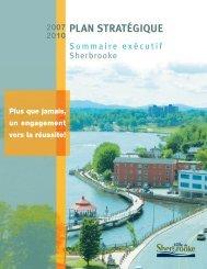 plan stratégique 2007-2010 - Ville de Sherbrooke