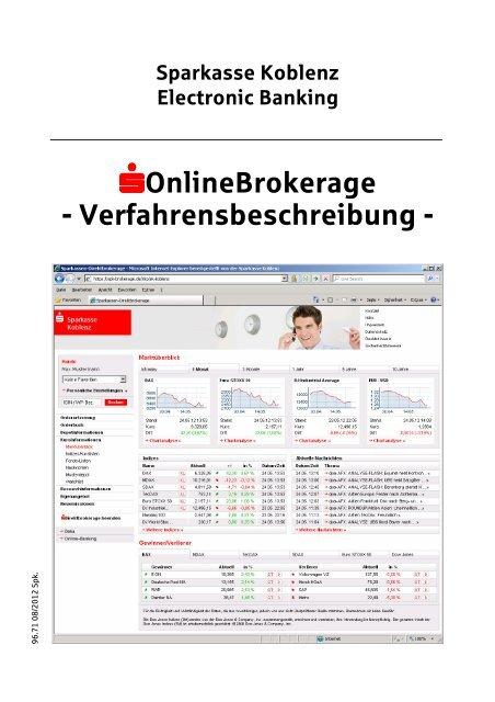 Online Brokerage Sparkasse Koblenz