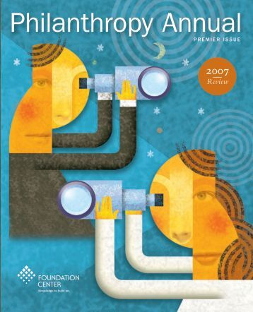 Download Philanthropy Annual PDF - Foundation Center